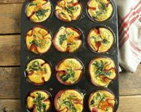 Ham and Egg Omelet Cups