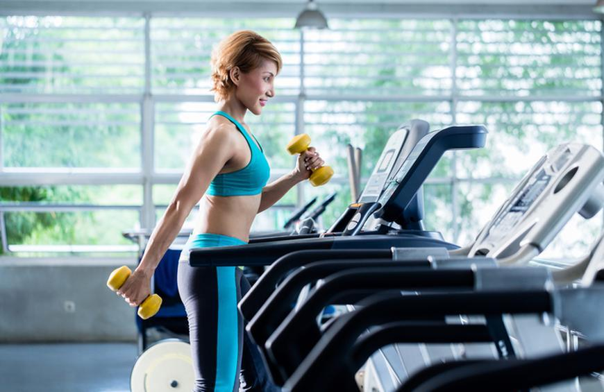 Treadmill, dumbbells and bodyweight from Best High-Intensity ...
