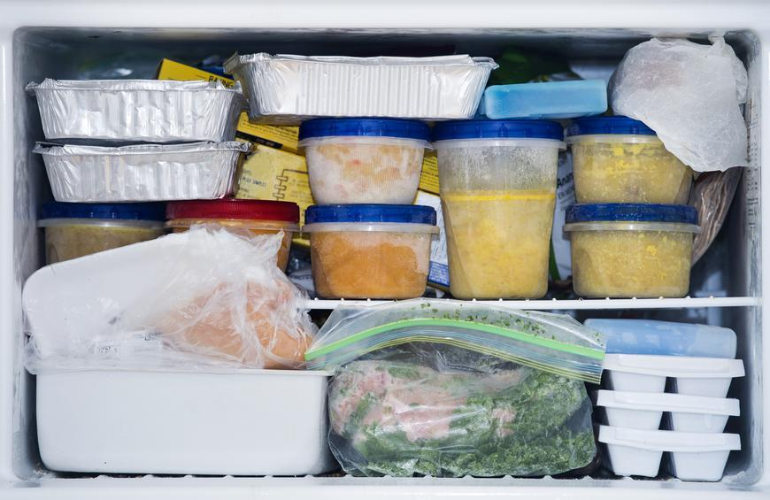 You refrigerate and freeze everything