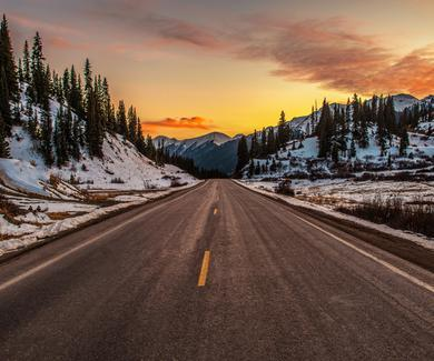Scenic Winter Drives in Every State