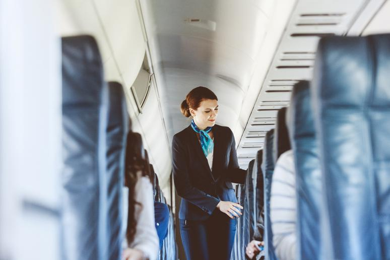 Flight attendants are not attractive enough