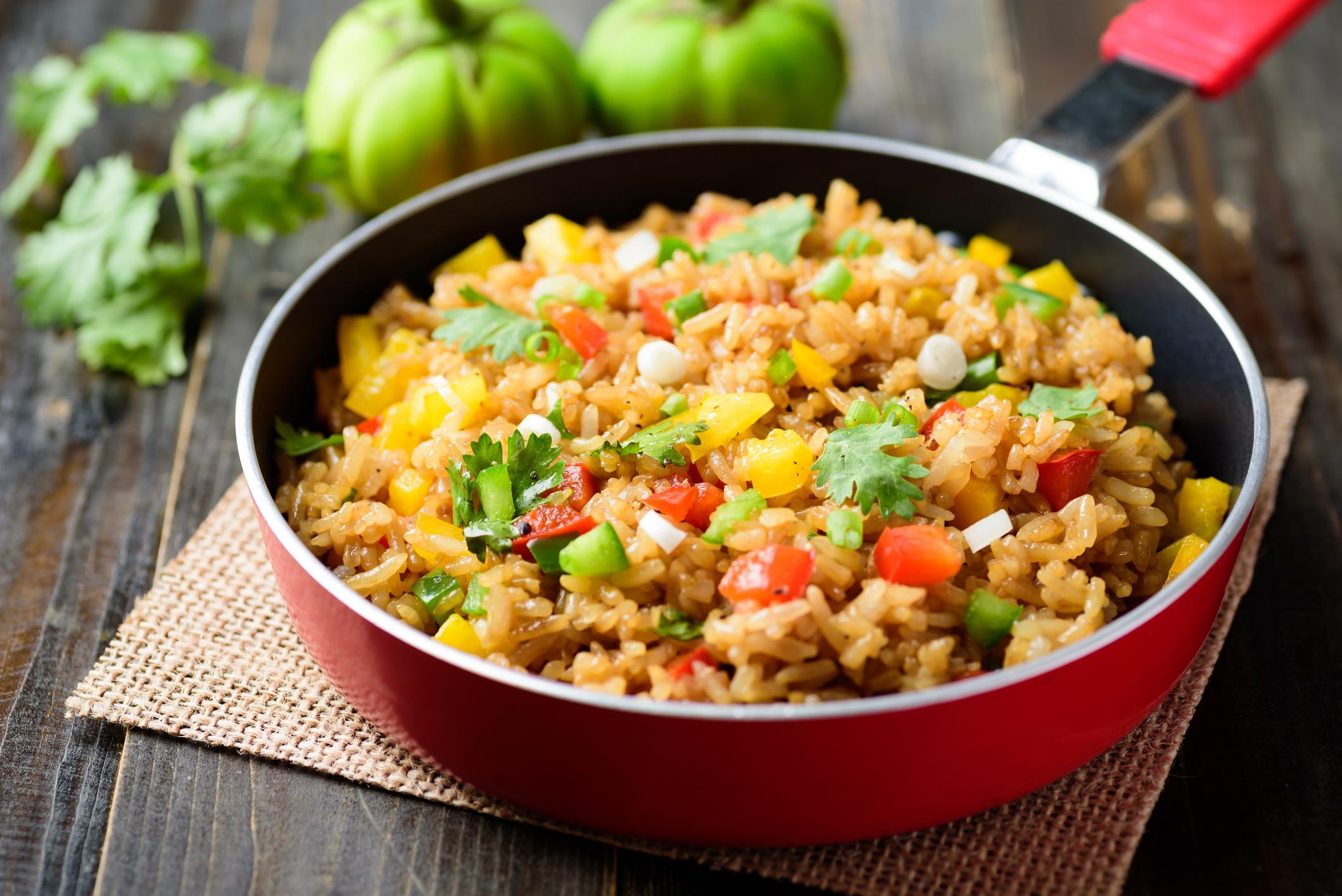 Vegetable Fried Rice Recipe By Zareen Syed