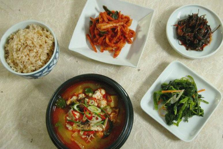 Soft tofu and vegetable soup recipe by judy joo soft tofu and vegetable soup cooking channels korean food made simple forumfinder Image collections