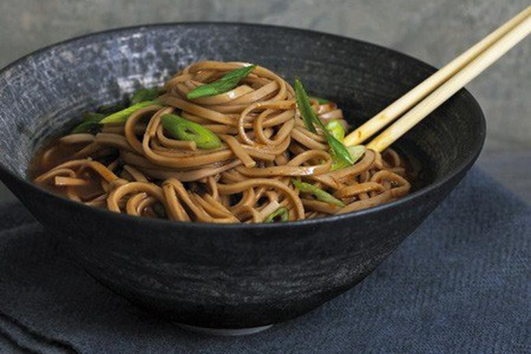 Chilled Buckwheat Noodles with Hot-Sour Tamarind Broth