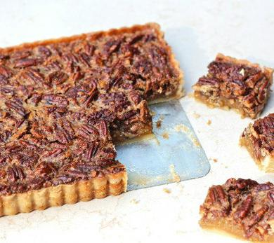 Browned Butter Pecan Tart