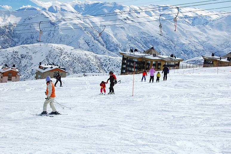 Snow fans can ski in Chile
