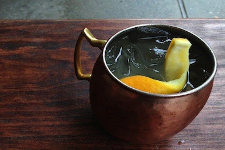 The Mexican Mule cocktail