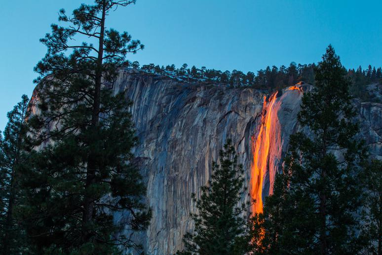 Horsetail Fall's Fire Fall, California