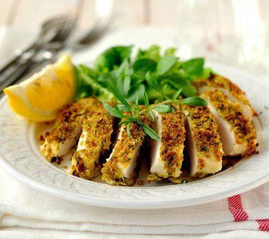 Lemon-Crusted Chicken Breast