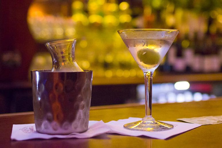 Order a drink at Musso & Frank