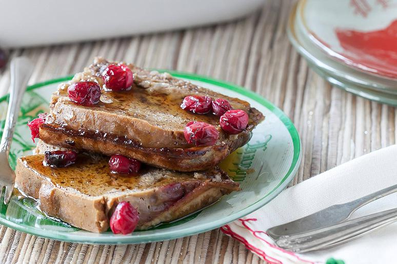 Baked Cranberry French Toast