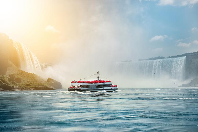 "For ""non-adventurers"": See Niagara Falls from a boat"