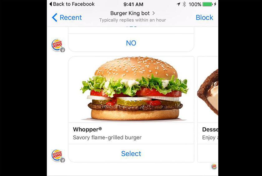 Get your fast food fix while you're browsing social media!