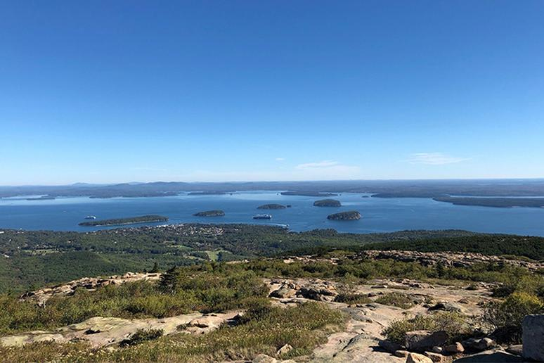 Maine - Cadillac Summit Loop Trail, Acadia National Park