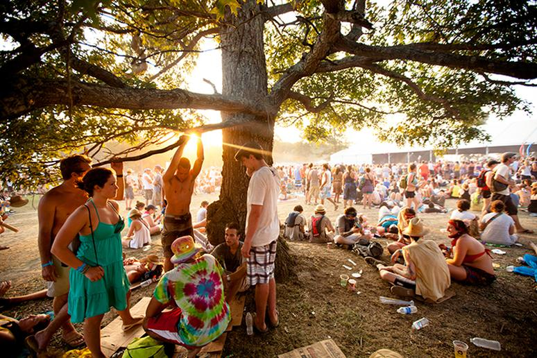 Go to a music festival in Nashville, Tennessee
