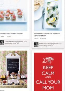 Head over to Pinterest to see our picks for a perfect Mother's Day.