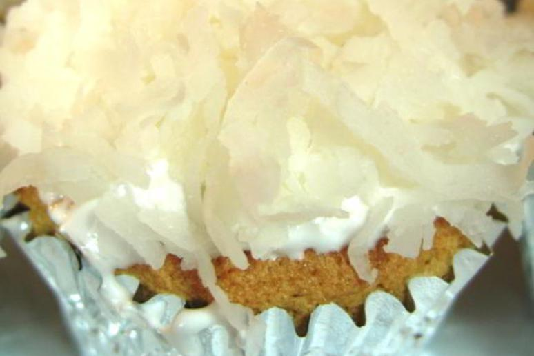 Salted Coconut Almond Cupcakes (Gluten-Free and Milk-Free)
