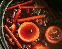 Slow Cooker Hot Punch: A Mulled Pomegranate Drink