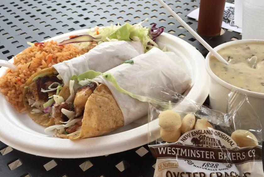 38) Pelly's Fish Market & Café, Carlsbad, Calif.: Grilled Fish Taco