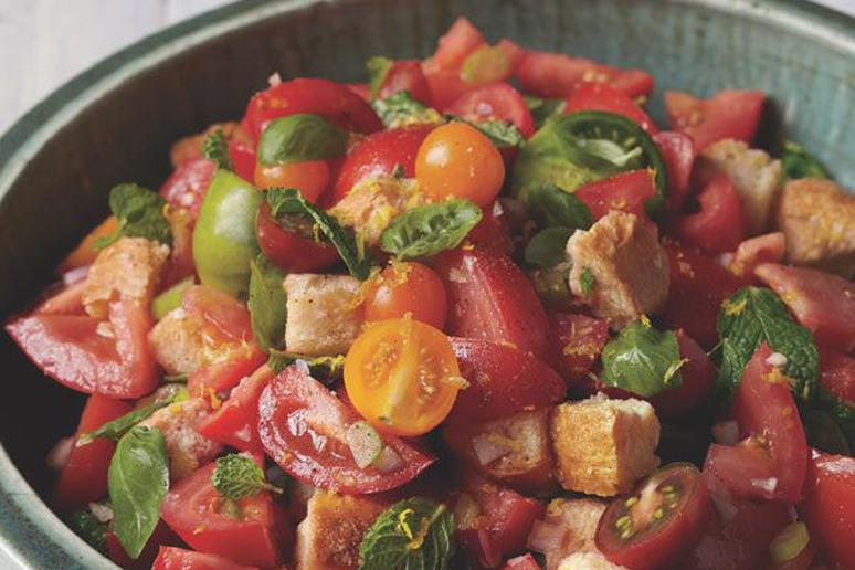 Italian Tomato and Bread Salad Recipe by Keepers Cookbook