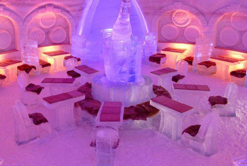 13 Cool Ice Hotels And Restaurants