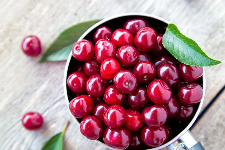 Tart cherries help with muscle inflammation