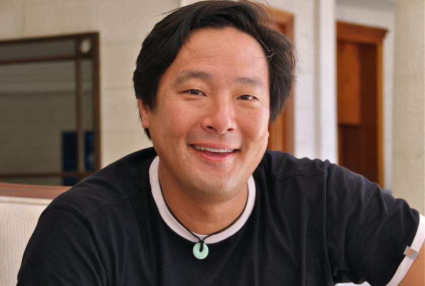 Chef Ming Tsai at Sandy Lane in Barbados during the first annual Barbados Food & Wine and Rum Festival.
