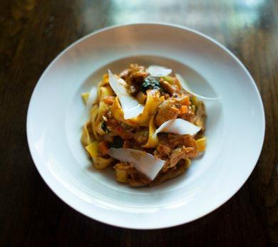 Fettuccine with Duck Ragout