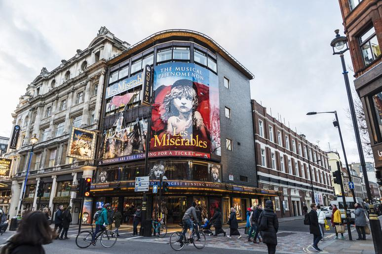 Catch a show in the West End in London