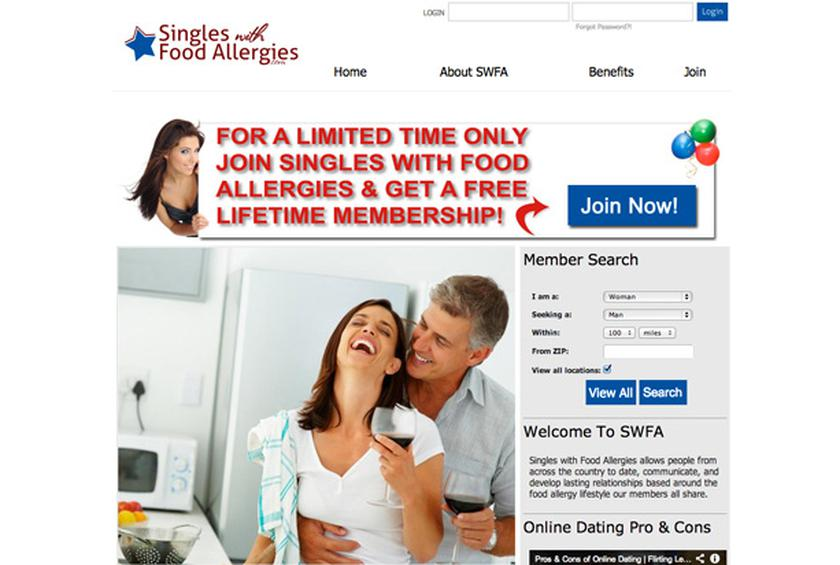 Love without nuts New dating site targets allergy sufferers