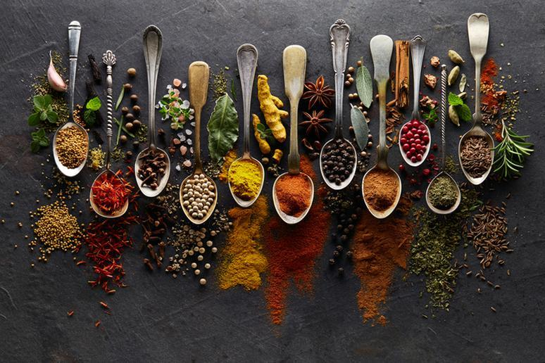 Add herbs and spices