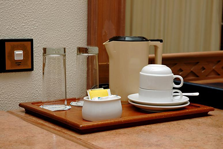 Wash glasses in your hotel room before you use them