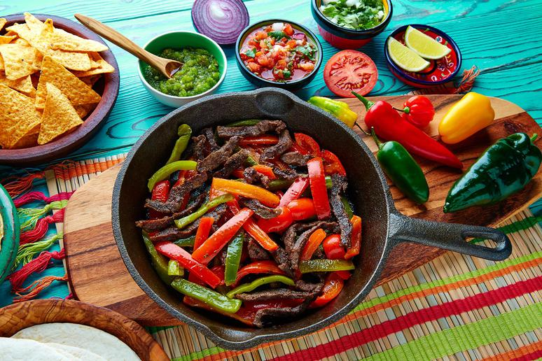 Pan-Fried Fajita Steaks