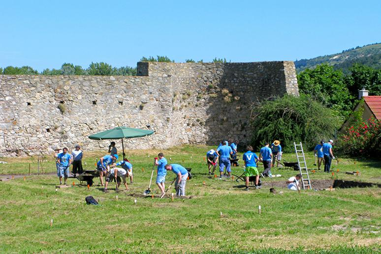 Be a volunteer archeologist for a day
