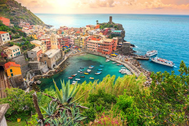 20. Hike Along Cinque Terre, Italy