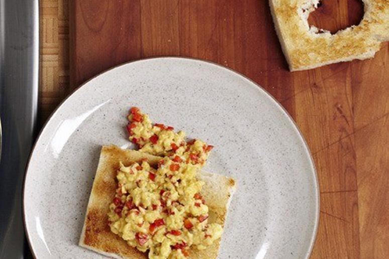 Egg and Pepper Croustades