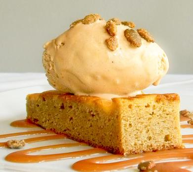 Pumpkin Cheesecake Blondie