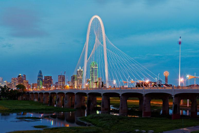 Ronald Kirk Bridge in Dallas, Texas