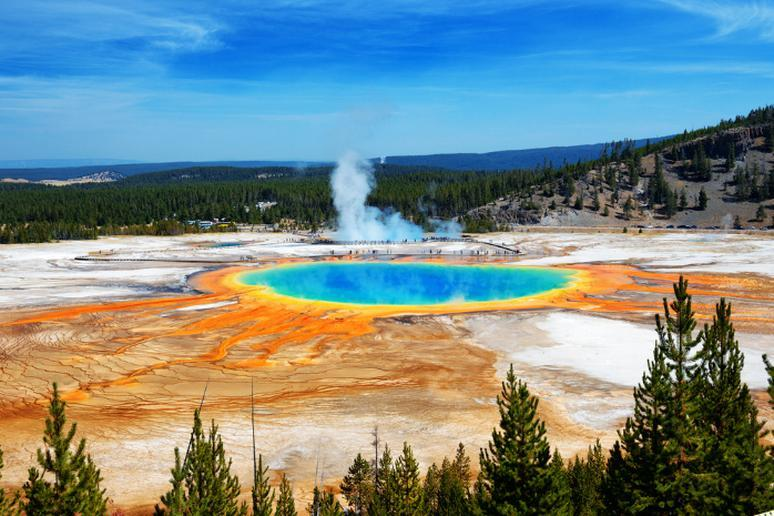 Wyoming – Grand Prismatic Spring