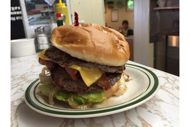 #86 Double Cheeseburger, Zwieg's Grill, Watertown, Wis.