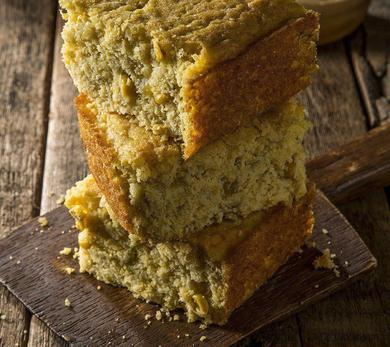 Cowboy Chile Cheese Cornbread