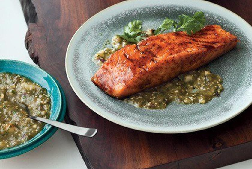 Chile Honey Glazed Salmon