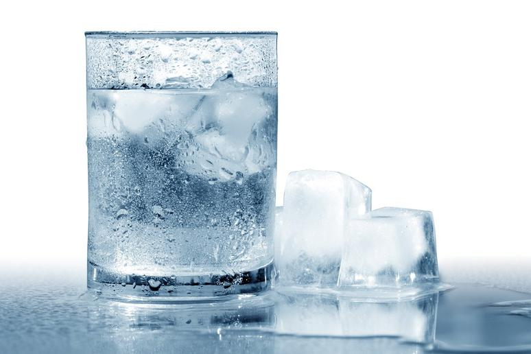 Ice-Cold Water