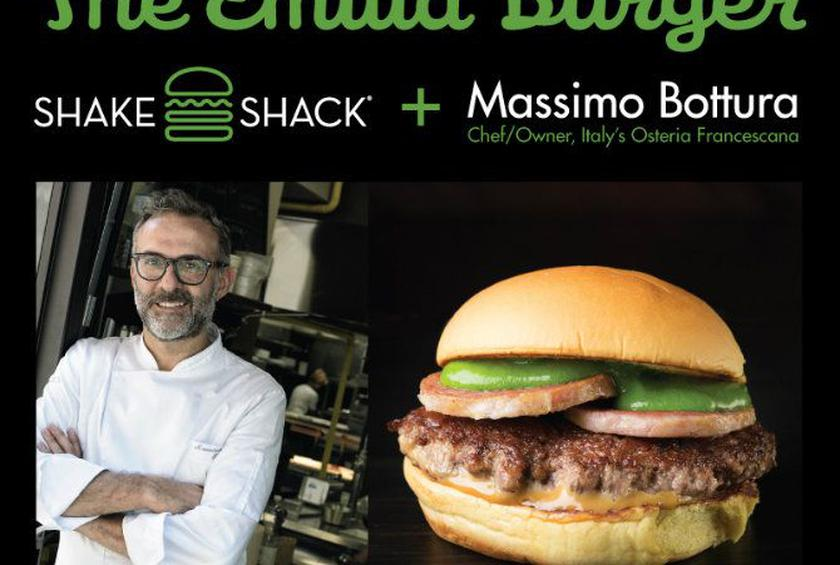 Shake Shack, Massimo Bottura Team Up for Limited Edition Columbus Day Burger