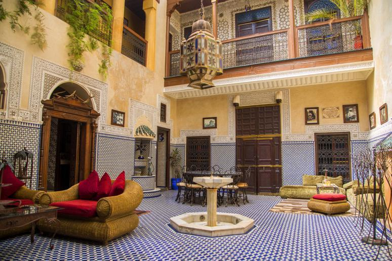 Staying at a riad in Marrakech