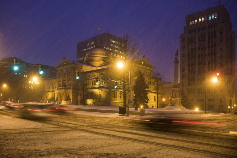 No. 9: South Bend, Ind. (Avg. Yearly Snow: 68 inches)