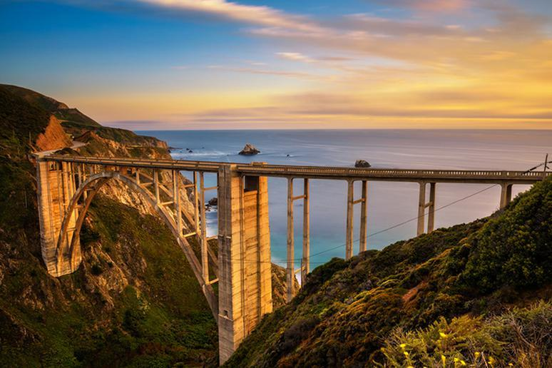 California – Drive from Los Angeles to San Francisco on the Pacific Coast Highway