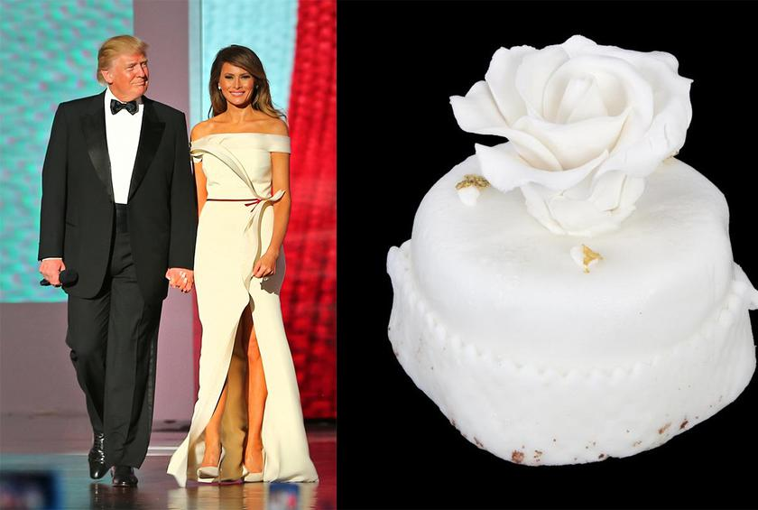 Piece Of The Trumps 12 Year Old Wedding Cake Up For Auction