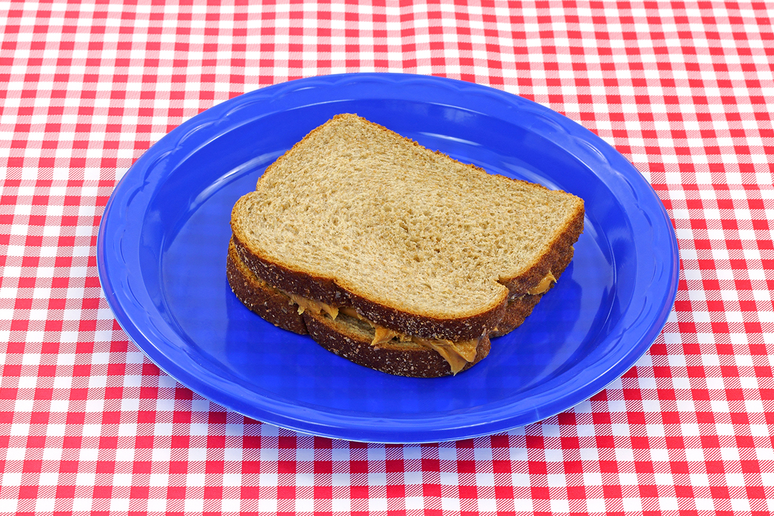 Peanut Butter and Mayonnaise Sandwiches