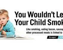 Would you compare a toddler eating bacon to one smoking a cigar?